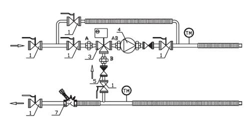 Нестандартные схемы узлов